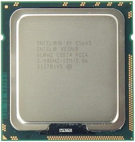Procesor server Intel Xeon Six Core E5645 SLBWZ 2.4Ghz LGA 1366