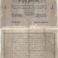 1848 , 1 forint ( P-S111 ) - Ungaria