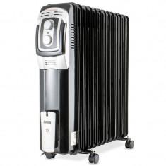Calorifer electric Zass, 3000 W, 13 elementi, termostat reglabil, protectie supraincalzire