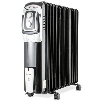 Calorifer electric Zass, 3000 W, 13 elementi, termostat reglabil, protectie supraincalzire foto