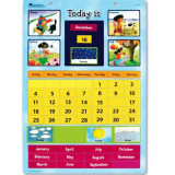 Calendar educativ magnetic Learning Resources, 51 piese magnetice, 30.5 x 42 cm
