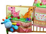 Buzunar Patut Pentru Copii Dino Roz, MyKids
