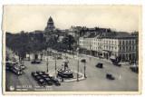 AD 1029 C. P. VECHE -BRUXELLES -PORTE DE NAMUR -1938 -BELGIA-MASINI DE EPOCA, Polonia, Necirculata, Printata
