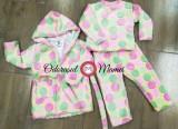 Pijama cocolino buline multicolore