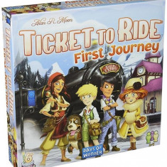 Joc Ticket To Ride First Journey Europe Edition
