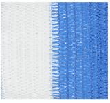 Cumpara ieftin Plasa Umbrire Multicolor HDPE UV / L[m]: 10; B[m]: 2; C: Alb-Albastru; GU[%]: 95; D[g/mp]: 95, Evotools