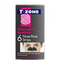 Benzi curatare puncte negre cu carbune activ , 6 buc