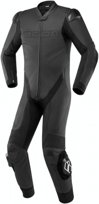 Combinezoane Moto Piele Icon Hypersport Ce Suit Negru marimea 60 Cod Produs: MX_NEW 28011273PE