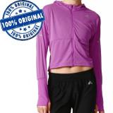 Bluza Adidas Pure X pentru femei - bluza originala - aerobic, M, S, XS, Mov, Poliester