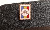 Insigna AFR - Asociatia Filatelistilor romani.
