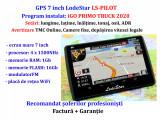 Navigatie Auto GPS HD 7 inch special Camion/BUS iGO Primo EU+RO2020 TMC+WiFi+ADR, Toata Europa, Lifetime, LodeStar
