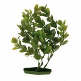 Plantă de acvariu – plastic, 28 cm frunze verzi
