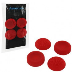 Silicone Thumb Grips Concave And Convex Red Ps4