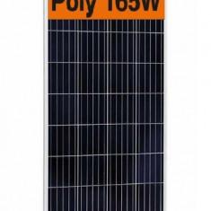 Panouri solare fotovoltaice 165W  NOI pt.12V optional regulator controler solar