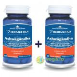 Ashwagandha 60Cps Pachet 1+1-50%