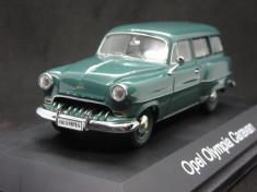 Macheta Opel Olympia caravan Schuco 1:43 foto