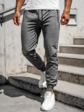 Cumpara ieftin Pantaloni de trening gri bărbați Bolf CE002