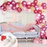 Set 97 baloane si accesorii pentru petrecere, aniversare tip arcada, Oem