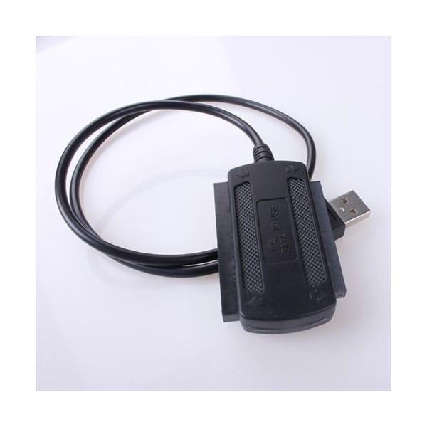 Adaptop USB 2.0 de la IDE hard disk laptop