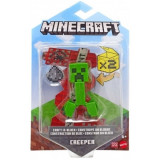 Minecraft, Craft-A-Block Figurina Creeper 8 cm, Mattel