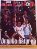 "Revista fotbal - ""DON BALON"" (02.07.-08.07.2001) poster echipa ZARAGOZA"