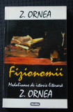 Z. Ornea - Fizionomii. Medalioane de istorie literară