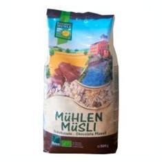 Musli Ecologici cu Ciocolata Bohlsener Pronat 500gr Cod: bhm101302