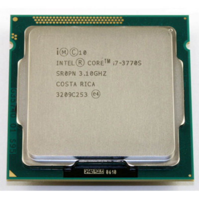 Procesor Intel Core i7-3770S 3.10GHz, 8MB Cache, Socket 1155 foto