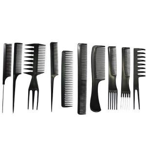 Set kit frizerie coafor foarfeca tuns filat pelerina brici metalic STEPHAN