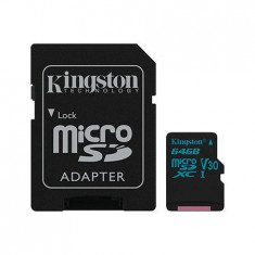 MICRO SD CARD 64GB UHS-1 4K ADAPTOR KINGSTON EuroGoods Quality