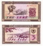 ALBANIA 3 leke 1976 UNC!!!