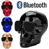 Cumpara ieftin Boxa speaker bluetooth craniu cap mort ochelari HD Stereo Bass bicicleta +CADOU!