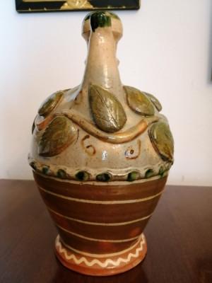 Ulcior vin, centru  Oboga, circa 1950, ceramica populara foto