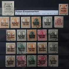 Timbre Ocupatia Germana din Polonia