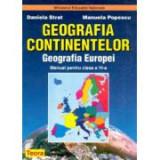 Geografia Europei, Geografia Continentelor, Manual pentru clasa a VI-a - Daniela Strat