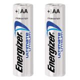 Baterii AA Litiu - Energizer, 2 buc / set