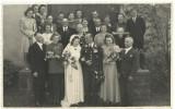 AMS# - FOTO NUNTA OFITER GERMAN CU DECORATII, CRUCEA DE FIER WW 2, 1942