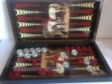 Table (joc de Table) - Lux lemn lacuit, model cal/caini. SIGILAT !