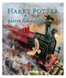 Harry Potter și piatra filosofală (Vol.1) (ediție ilustrată)
