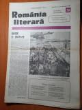 romania literara 8 decembrie 1988-cantarea romaniei
