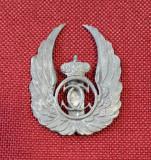 Insigna per. regalista Aviatie - Observator aerian - Carol II