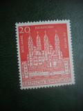 HOPCT TIMBRE MNH 879 CATEDRALA SPEYER 900 ANI  1961 - 1 VAL GERMANIA