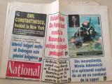 ziarul national 9 iunie 1998-campionatul mondial de fotbal,emil constantinescu