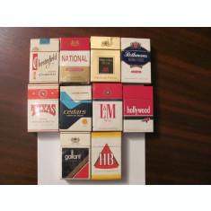 PVM - Lot 10 pachete goale tigari straine diferite / 60 lei lot 8 lei pachetul