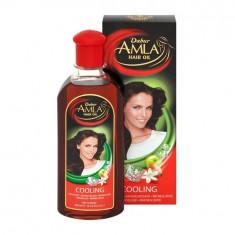 DABUR Amla Hair Oil Cooling (Ulei de Amla Racoritor, Menta si Lemn de Santal)...