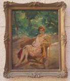 Peczely Antal, Peisaje, Ulei, Impresionism