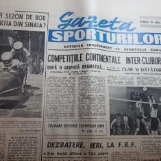 Gazeta sporturilor 18 ianuarie 1990-bob la sinaia,volei,patinaj viteza