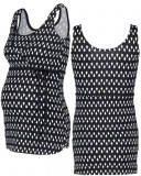 Bluza / Maiou pentru alaptare cu imprimeu Noppies