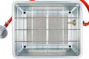 Radiator Incalzire pe Gaz Butelie, Putere 3400W, 3 Trepte, Suprafata Incalzire 70mp + Regulator si Furtun CADOU