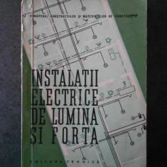 ING. A. STAVRESCU - INSTALATII ELECTRICE DE LUMINA SI FORTA